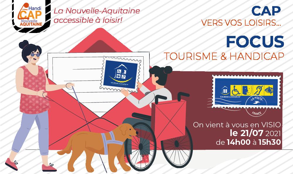 CAP vers vos loisirs : on vient à vous ! Focus Tourisme & Handicap