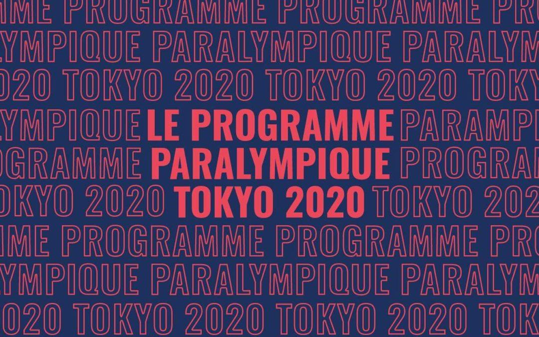 Jeux paralympiques Tokyo 2020 à suivre dès le 24 août 2021 !