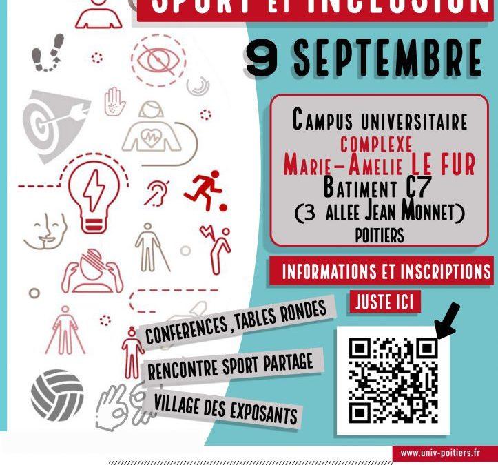 Journée Sport et Inclusion, à Poitiers